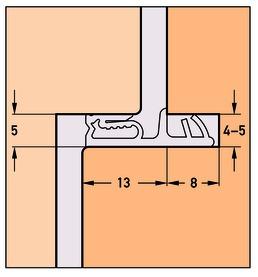 Profils d'étanchéité DEVENTER SP 7713