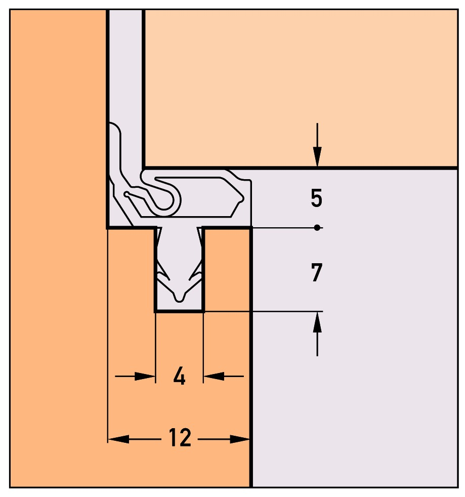 Profils d'étanchéité DEVENTER SP 7677