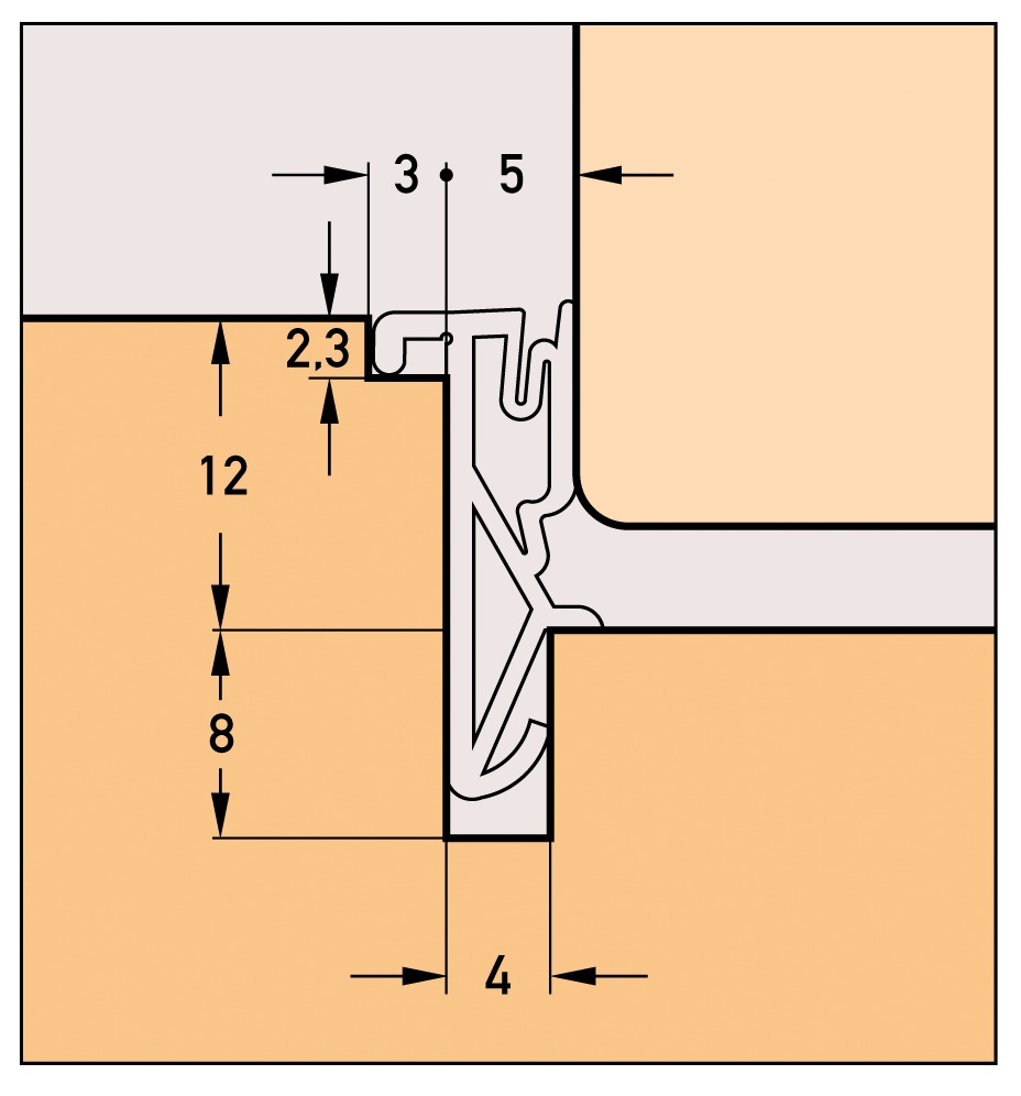 Profils d'étanchéité DEVENTER S 6616