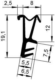 Profils d'étanchéité DEVENTER S 9728