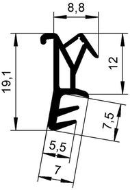 Dichtungsprofile DEVENTER S 9428