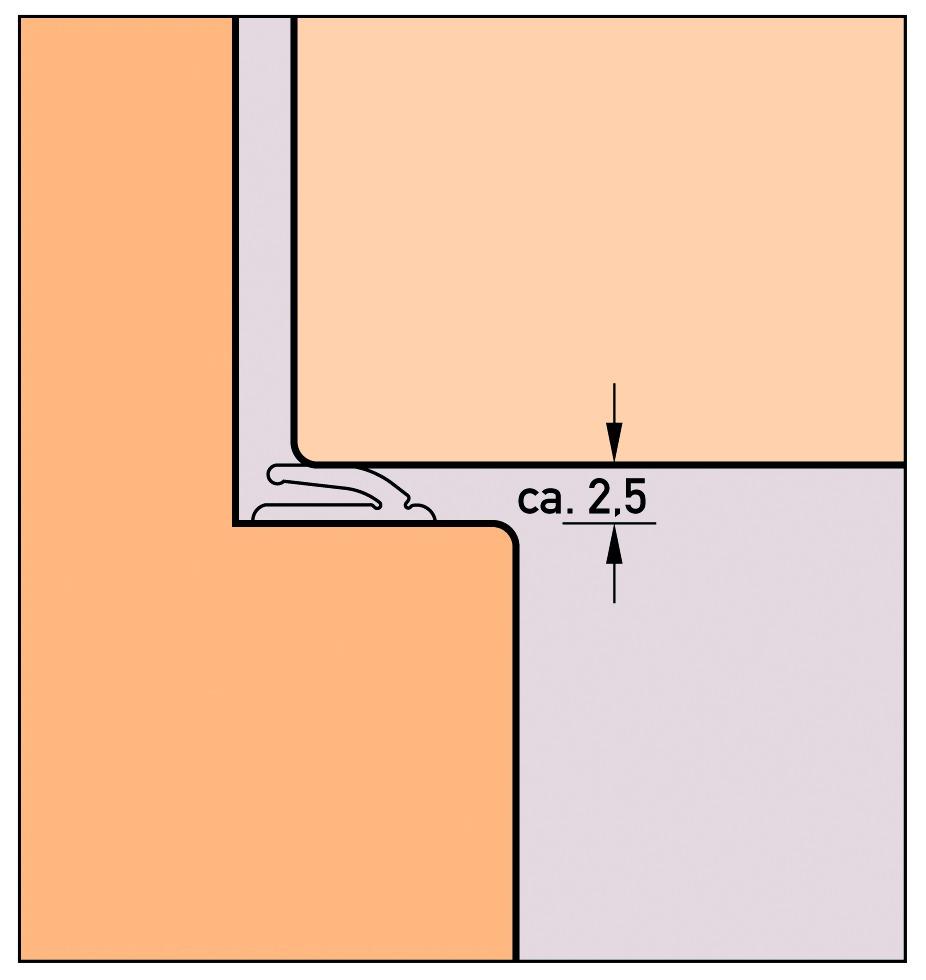 Profils d'étanchéité DEVENTER S 9168a K