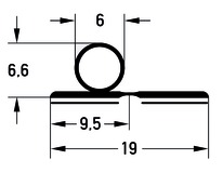 Profils d'étanchéité DEVENTER S 9100-10 K