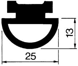 Pendeltür-Dichtungsprofile