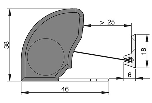 Fingerschutz ATHMER NR-38