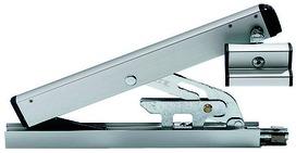Compas d'impostes OL 90 N avec sécurité anti-décrochage et support de vantail