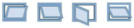 Compas d'impostes GEZE OL 90 N avec support de vantail