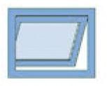 Compas d'impostes GEZE OL 90 N vantail pliante vers l'extérieur pour profondeur d'embrasure de 0-30 mm