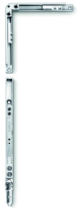 Treuil vertical GEZE Fz 91 avec renvoi d'angle correspondant pour OL 90 N / OL 95