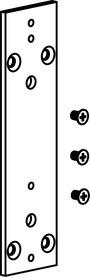 Plaque de base pour poignée et mécanisme GEZE Fz 91