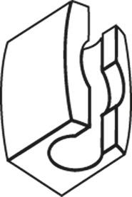 Guide per bacchette abbinabile per OL 90 / OL 95