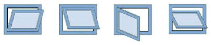 Compas d'impostes GEZE OL 95 avec support de vantail