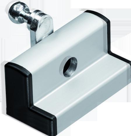 Support de vantail standard correspondant pour GEZE OL 90 N / OL 95