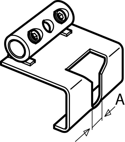 Trascinatore di bloccaggio abbinabile per GEZE OL 90 N