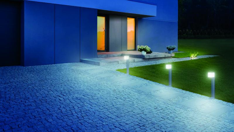 LED lampe détection extérieur STEINEL Cubo GL 80