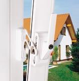 Catenacci con staffa di bloccaggio per finestre ABUS FO 500