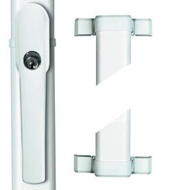 Fermetures à tringles pour fenêtres ABUS FOS 550