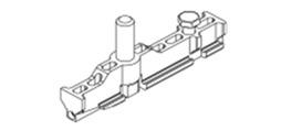 HAWA 13415 Aufhängeschlitten mit Aufhängeschraube M12