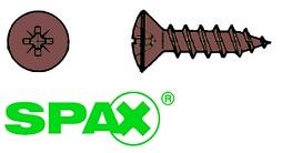 Viti mordenti per pannelli truciolati SPAX