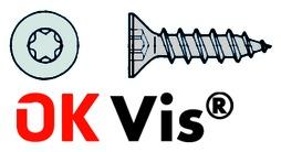 Viti mordenti per pannelli truciolati OK-VIS