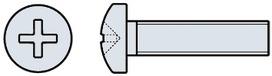 Vis à métaux Pan-Head, DIN 7985