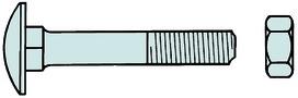 Flachrundschrauben DIN 603