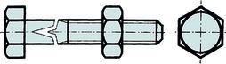 Bulloni per carpentieri DIN 601