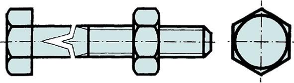 Boulons de charpente DIN 601