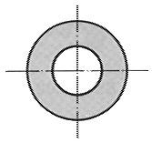 Rondelles, mi-fortes, DIN 522