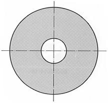 Ranelle per viti mordenti a testa esagonale DIN 9021 B