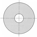 Rondelles A2 pour vis à tête hexagonale DIN 9021 B