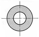 Rondelles sans chanfrein A2 DIN 125 A