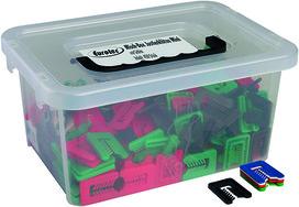 Coffret d'assortiment de blocs d'ajustage Mini avec fente