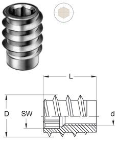 Einschraubmuffen RAMPA Typ SK