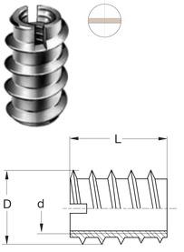 Einschraubmuffen RAMPA Typ C