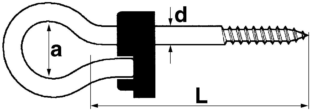 Crochets de sûreté de balançoires