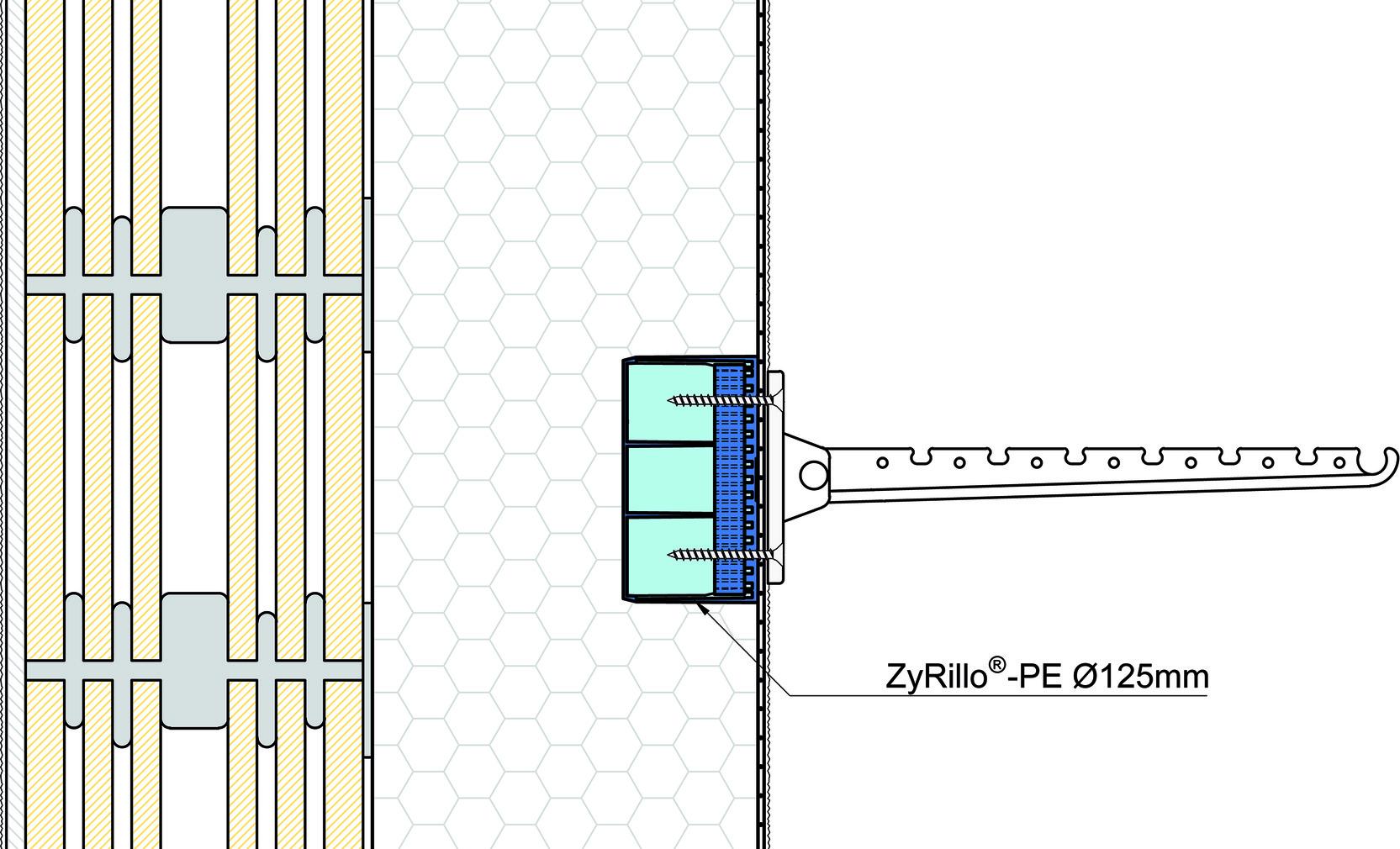 Cylindre de montage ZyRillo-PE