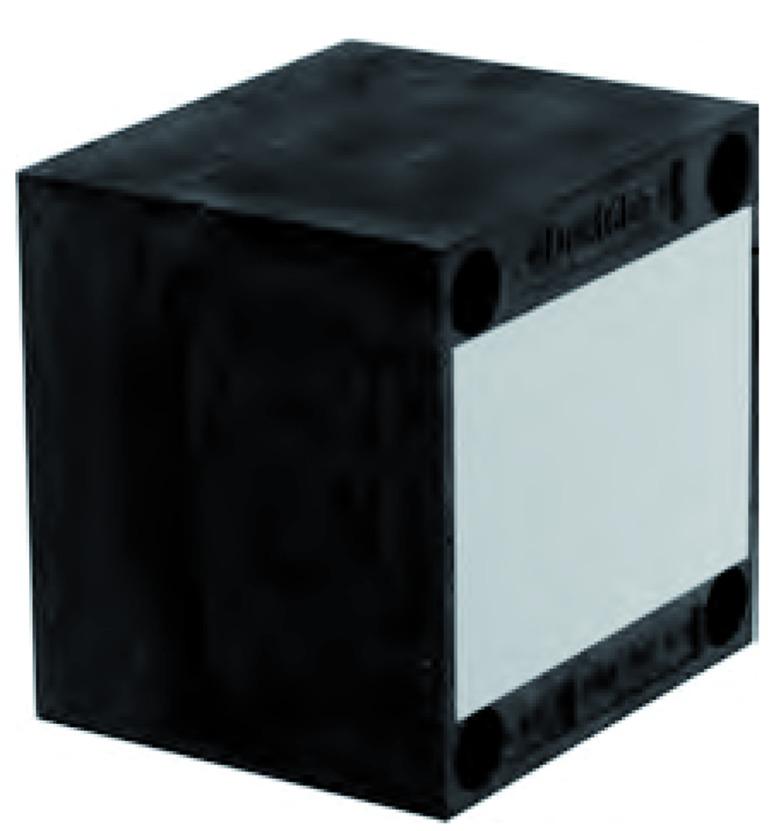 Plaques de montage universel UMP-ALU-Q (quadratique)