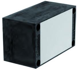 Plaques de montage universel UMP-ALU-R (rectangulaire)