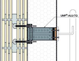 Plaques de montage universel UMP-ALU-TR (rectangulaire)