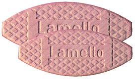 Plaquettes d'assemblage LAMELLO