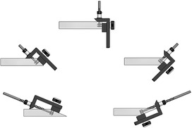 Gabarit de perçage LAMELLO CLAMEX P-System