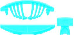 Verbinder LAMELLO TENSO P-10 mit Vorspann-Clip