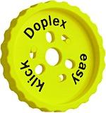 Gabarit de montage pour ferrements d'assemblage à suspendre DOPLEX easy