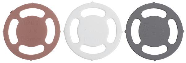 Placchette distanziatrici per ferramenta d'assemblaggio DOPLEX