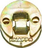 Ferrements d'assemblage à suspendre KNAPP DUO 30oL