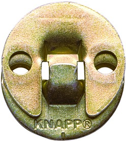 Ferrements d'assemblage à suspendre KNAPP DUO 35oL
