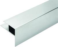 Aluminium-Stufenprofil RELAZZO naturo WPC