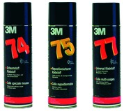 Colle a spray 3M