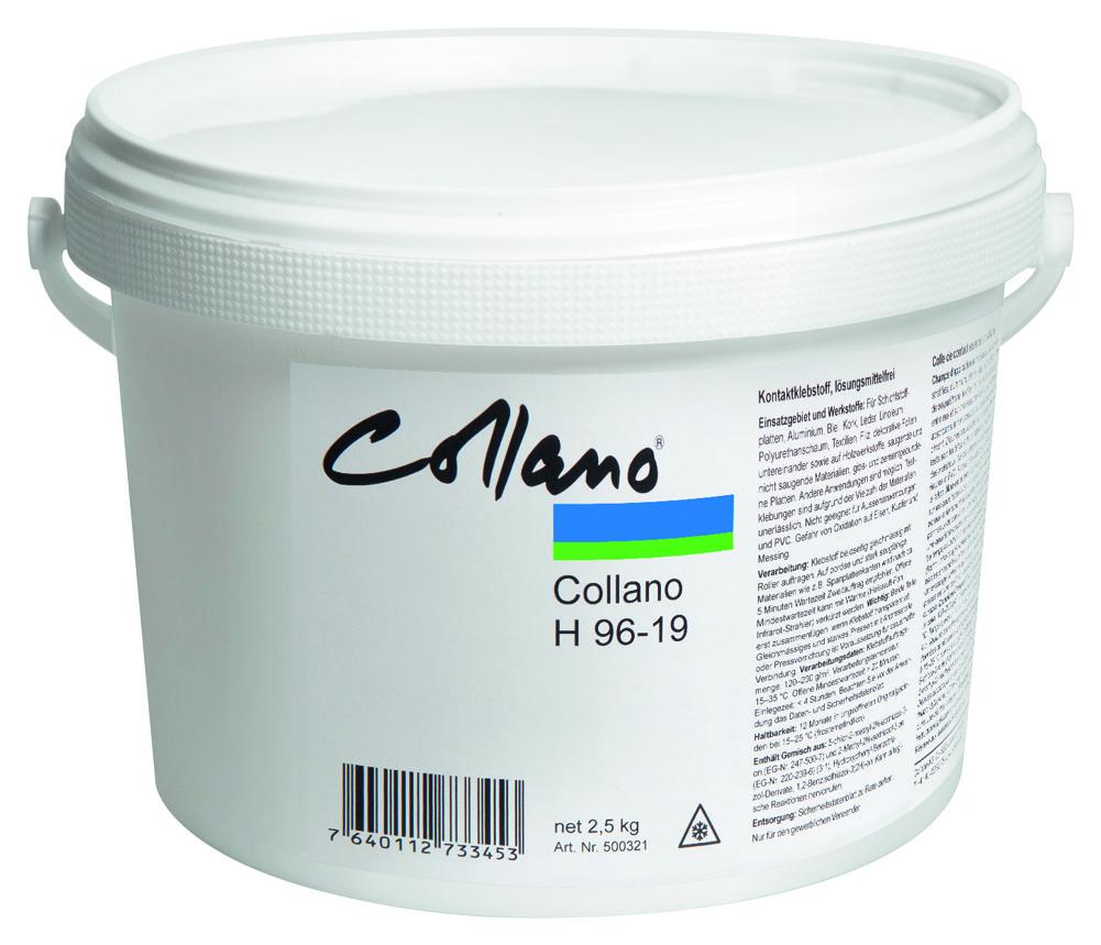 Colle de contact sans solvant COLLANO H 96-19